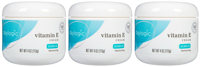 Daylogic Vitamin E Moisturising Cream 20,000 IU, 4 oz (Pack of 3)