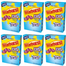 Starburst Fruit Punch Drink Mix, 0.59 oz (Pack of 6)