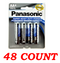 Panasonic AA Super Heavy Duty Power Batteries, 48 ct.