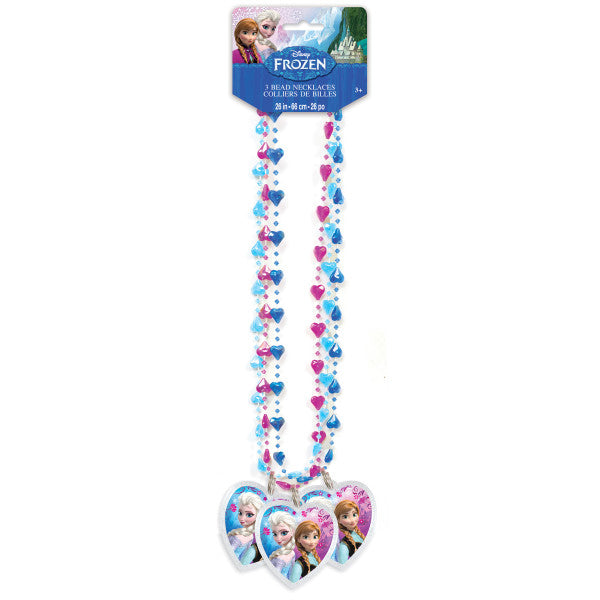 Disney Frozen Bead Necklaces, 3ct