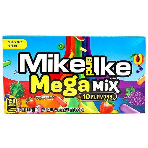 Mike and Ike Mega Mix 10 Flavors, 5 oz