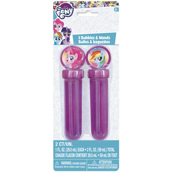 My Little Pony Bubbles & Wands 1oz, 2ct