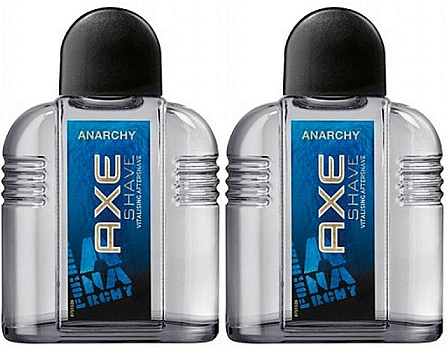 Axe Anarchy Vitalising Aftershave, 100ml (Pack of 2)