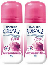 Garnier Obao for Women Floral Deodorant, 2.3 oz. (Pack of 2)