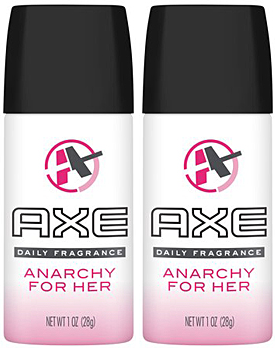 Axe Anarchy For Her Deodorant Women, 150ml (Pack of 2)