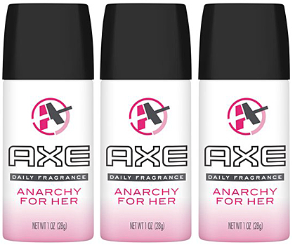 Axe Anarchy For Her Deodorant Women, 150ml (Pack of 3)