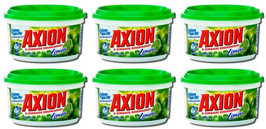 Axion Limon Arrancagrasa Grease Stripper, 235 g (Pack of 6)