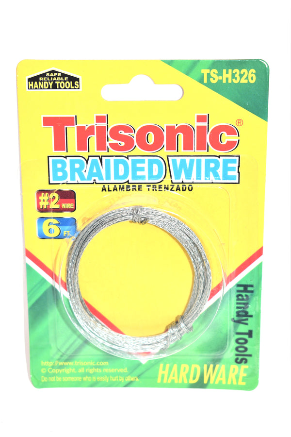 #2 Braided Wire, 6 ft.