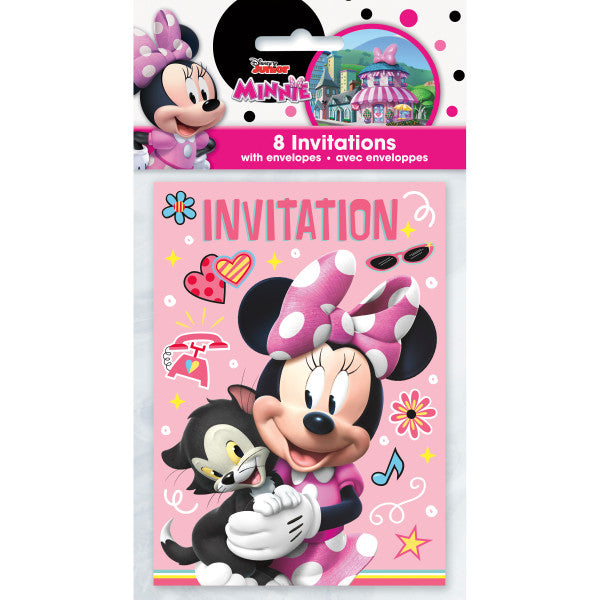 Disney Iconic Minnie Mouse Invitations, 8ct