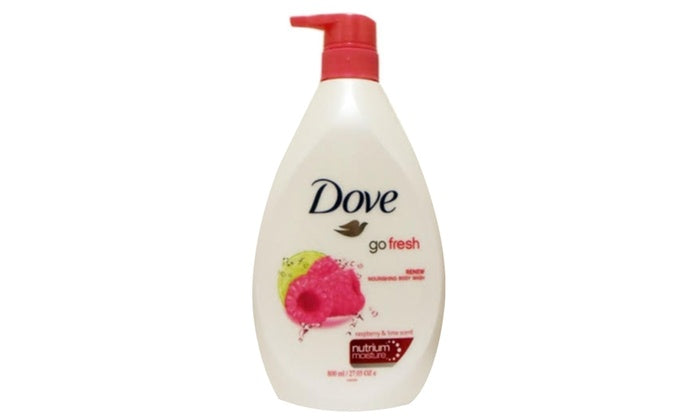 Dove Go Fresh Raspberry & Lime Scent, 800ml