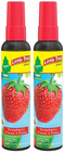 Little Trees Strawberry Scent Spray Air Freshener, 3.5 oz (Pack of 2)