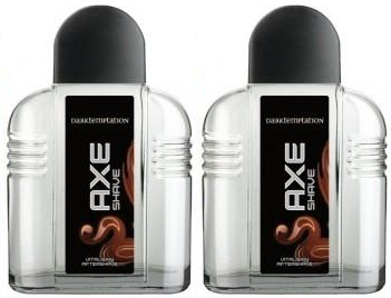 Axe Dark Temptation Vitalising Aftershave, 100ml (Pack of 2)