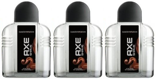 Axe Dark Temptation Vitalising Aftershave, 100ml (Pack of 3)
