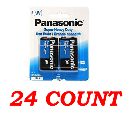 Panasonic C Super Heavy Duty Power Batteries, 24 ct.