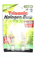 40 Watts (60 Watts Equivalent) Halogen Light Bulb, 2-ct.