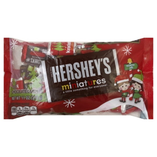 Hershey's Miniatures Chocolate Candy, 11 oz