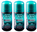 Garnier Obao Deodorant for Men Classic Fragancia Intensa, 65g (Pack of 3)