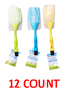 Microfiber Duster With Brush, 12-ct.