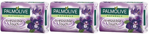 Palmolive Naturals Irresistible Touch Black Orchid, 4 ct. 360g (Pack of 3)