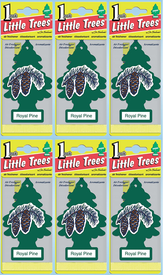 Little Trees Royal Pine Air Freshener, 1 ct. (Pack of 6)