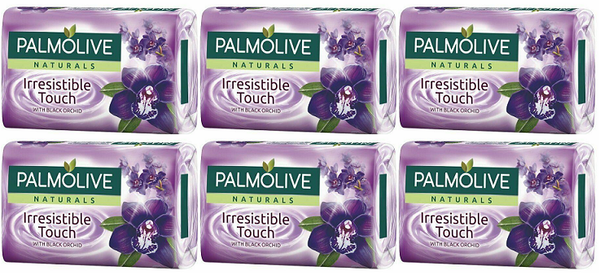 Palmolive Naturals Irresistible Touch Black Orchid, 4 ct. 360g (Pack of 6)