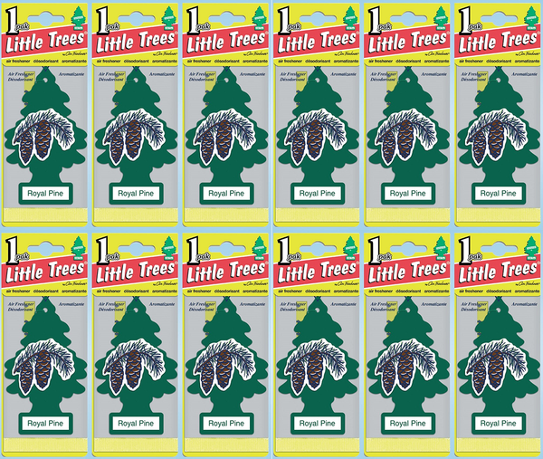 Little Trees Royal Pine Air Freshener, 1 ct. (Pack of 12)