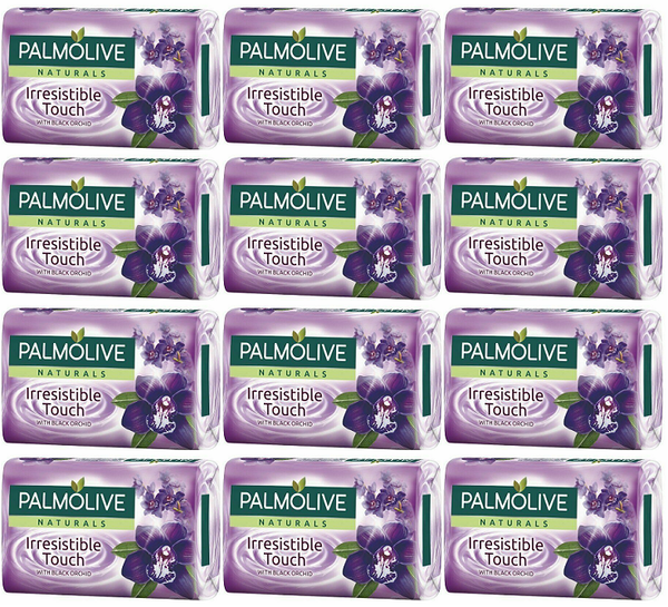 Palmolive Naturals Irresistible Touch Black Orchid, 4 ct. 360g (Pack of 12)