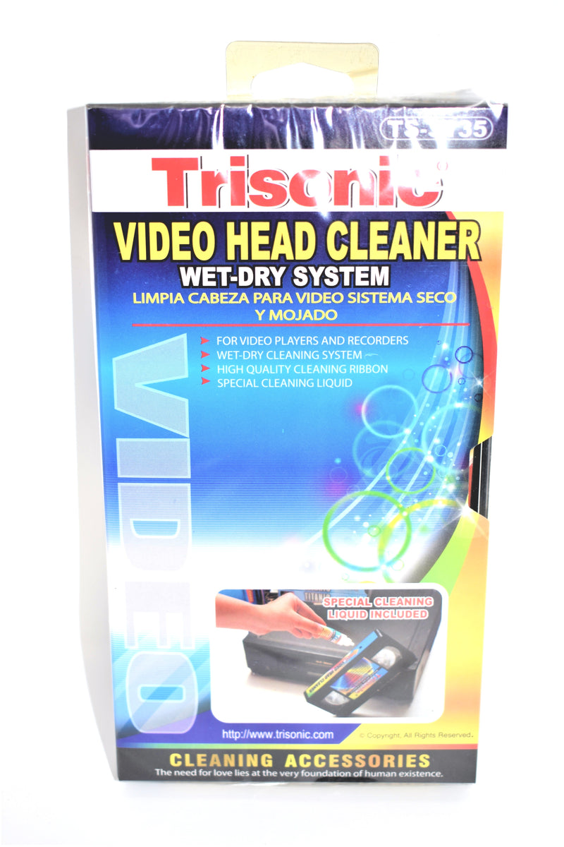 Video Head Cleaner Wet-Dry System