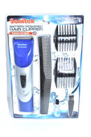 Battery Powered Hair Clipper Grooming Set