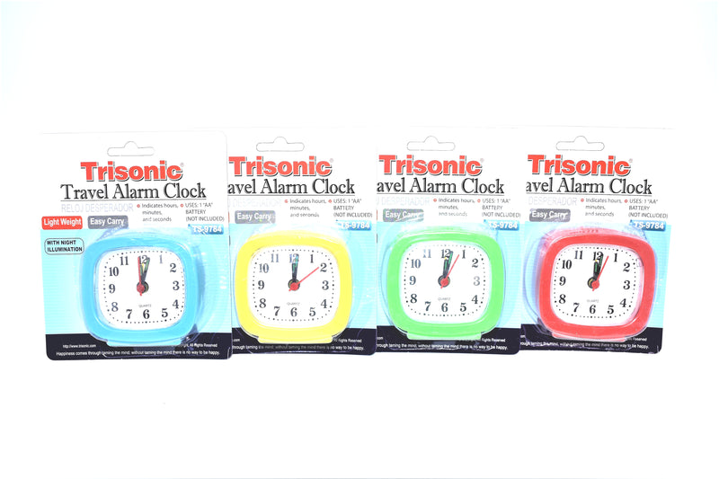 Travel Alarm Clock, 1-ct.