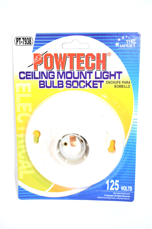 Ceiling Mount Light Bulb Socket