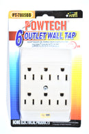 6 Outlet Wall Tap
