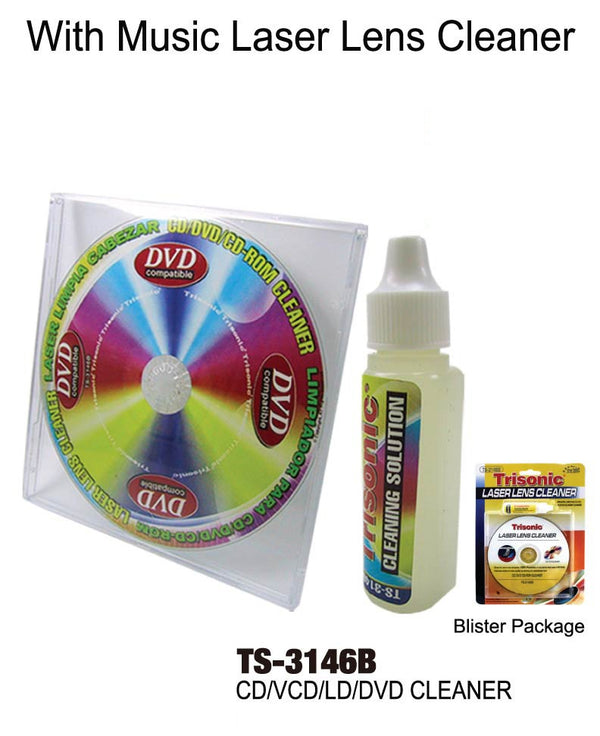 Laser Lens Cleaner Kit