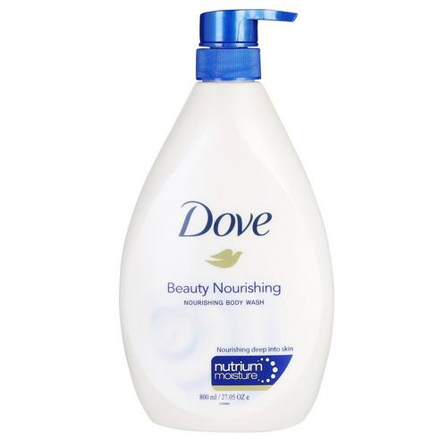 Dove Beauty Nourishing Body Wash, 800ml