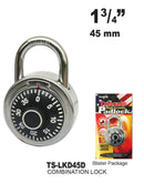 High Security Combination Padlock, 45 mm