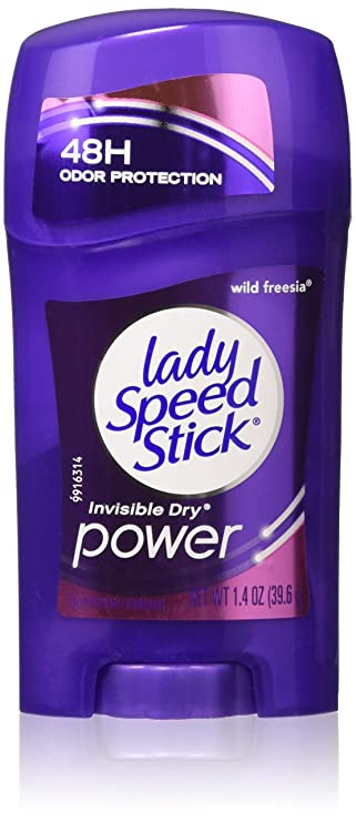 Lady Speed Stick Wild Freesia Invisible Dry Power Deodorant, 1.4 oz