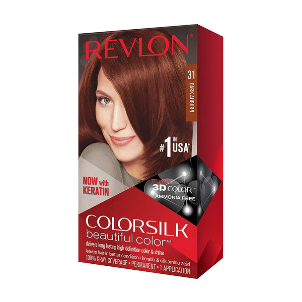 Revlon ColorSilk Beautiful Color™ Hair Color - 31 Dark Auburn