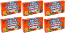 Fruit Chews Mini Bites Candy Coated Chews, 3.5 oz (Pack of 6)