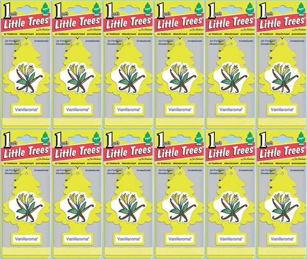 Little Trees Vanillaroma Air Freshener, 1 ct. (Pack of 12)