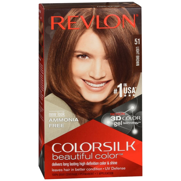 Revlon ColorSilk Beautiful Color™ Hair Color - 51 Light Brown