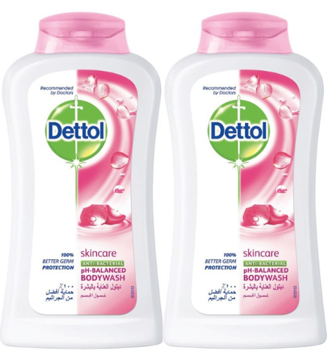 Dettol Skincare Long Lasting Moisture Antibacterial Body wash, 100 gm (Pack of 2)
