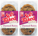 Baker's Batch Soft Baked Oatmeal Raisin Cookies, 7.1 oz (Pack of 2)