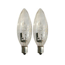 25 Watts (40 Watts Equivalent) Halogen Bulb, 2-ct.
