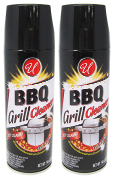 BBQ Grill Cleaner, 14 oz. (Pack of 2)