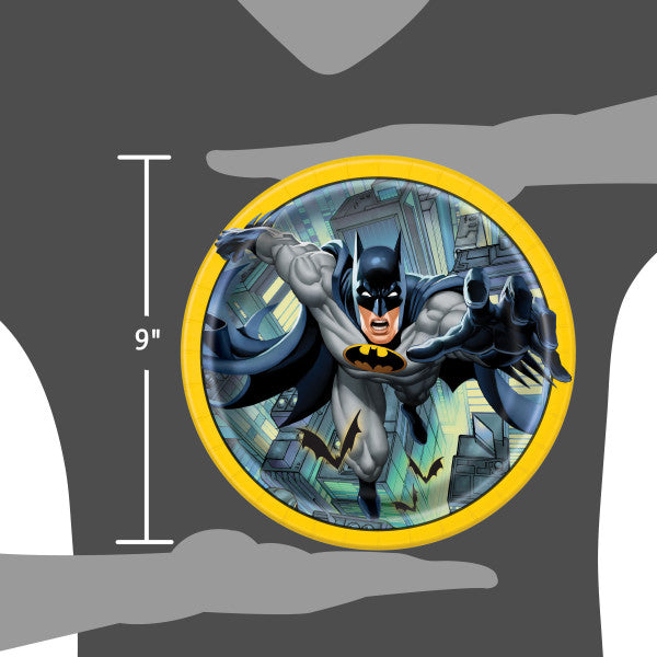 "Batman Round 9"" Dinner Plates, 8ct"
