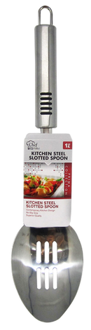 Kitchen Steel Slotted Spoon Prima Collection