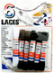 Black and White Shoe Laces, 6-ct.