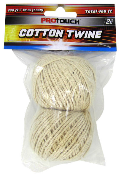 Cotton Twine, 2-ct., 460 ft.
