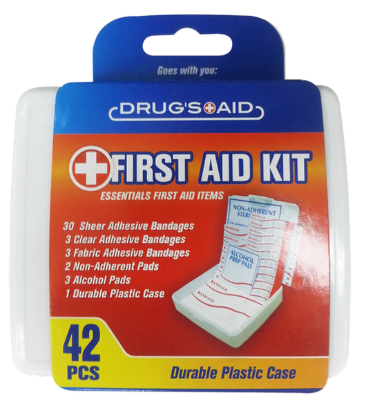 First Aid Kit Essential Items, 42-ct.