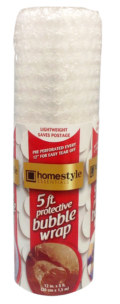Homestyle Essentials Protective Bubble Wrap, 5 ft., 1-ct.